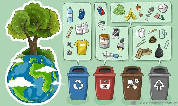 """垃圾分类革命 通过循环经济建设""""无废城市"""""""